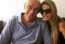 Marcelo Rezende e Luciana Lacerda - Reprodução/Internet