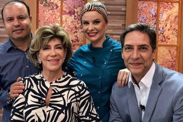 Vildomar Batista, Silvia Poppovic, Luiza Hoffmann e Luis Ernesto - Reprodução/Instagram