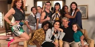 Verão 90 - Mainha aprova a performance do tigre Patrick/TV Globo