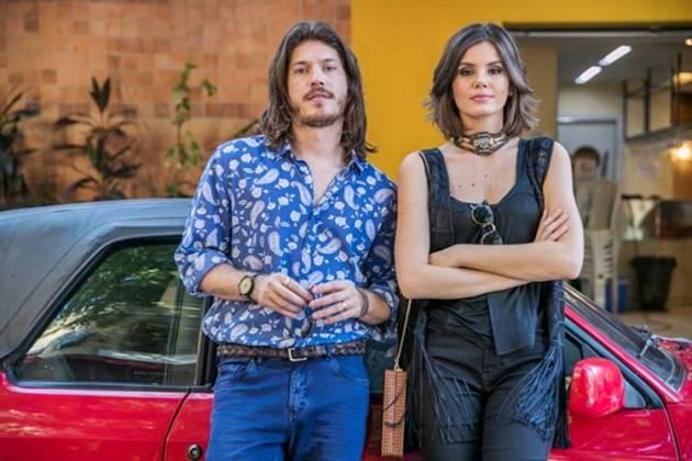 Verão 90 - Quinzinho e Vanessa (Globo/Raquel Cunha)