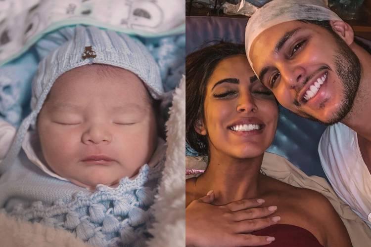 Bruno Guedes mostra detalhes do nascimento do primeiro filho com Jade Seba