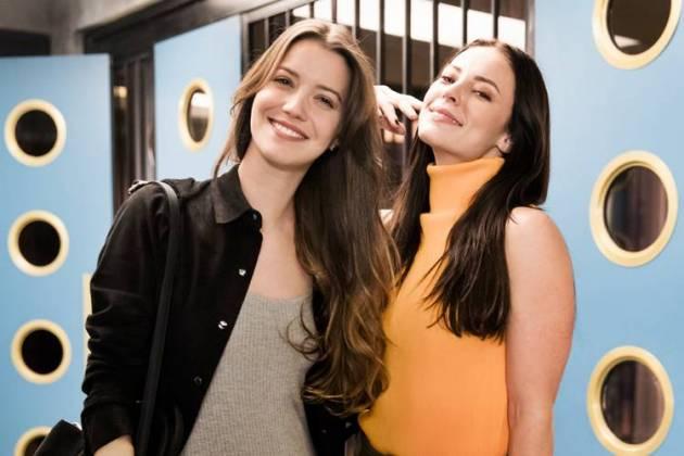 A Dona do Pedaço - Fabiana e Vivi (Globo/João Miguel Júnior)