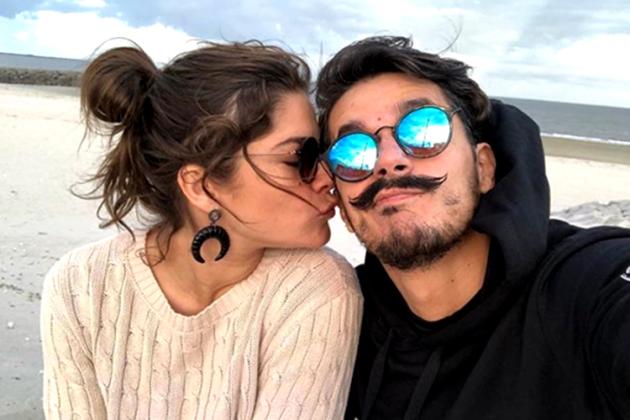 Priscila Fantin com o namorado/Instagram