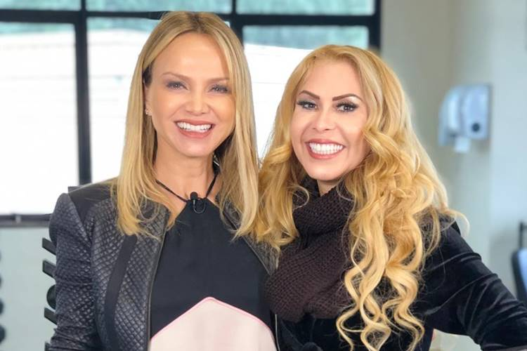 Eliana faz surpresa para cantora Joelma