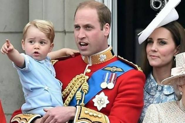 Principe William e família