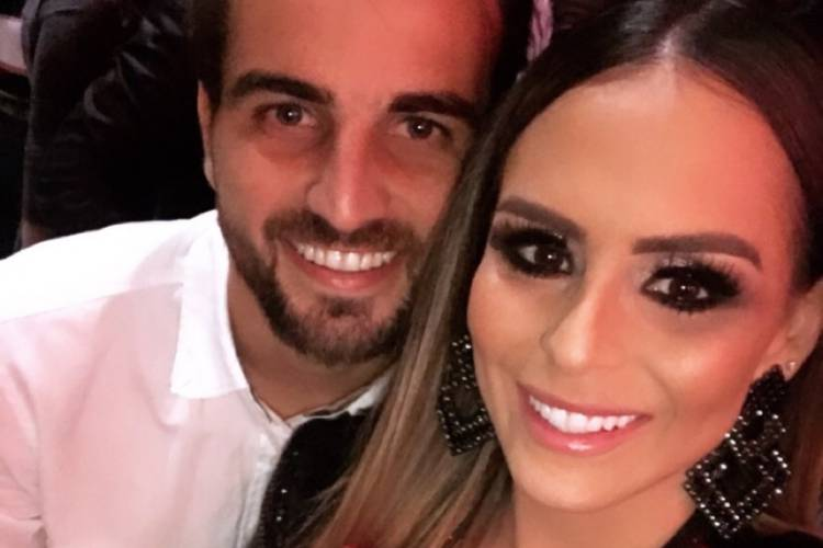 Após casamento, filha de sertanejo Chitãozinho e o marido trocam declarações
