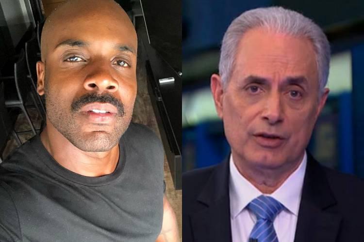 "Rafael Zulu detona volta de William Waack à TV: ""Um branco racista"""