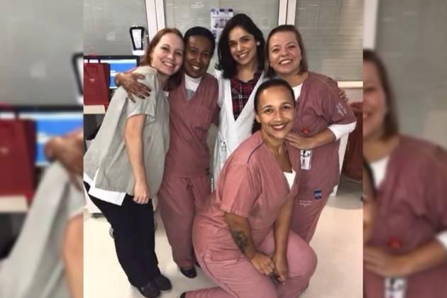 Enfermeiras - Reprodução/Instagram