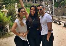 Suzanna com Mico e Kelly Key/Instagram