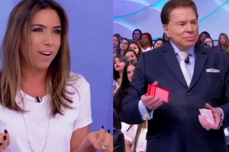 """Silvio Santos gera climão com Patrícia Abravanel e dispara: """"Não adianta pedir que não tem"""""""