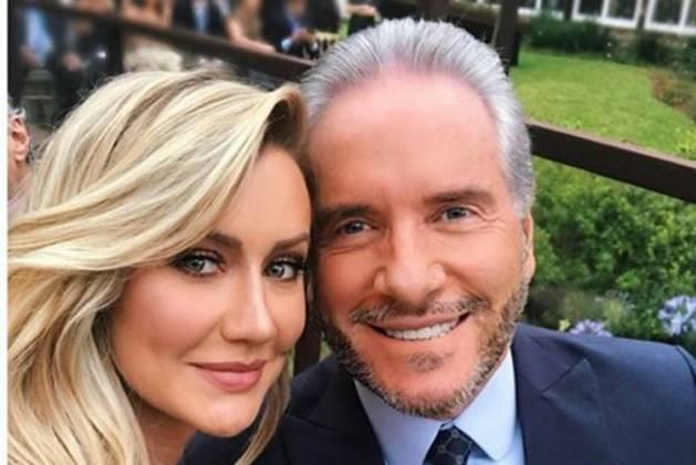 Roberto Justus e Ana Paula Siebert/instagram