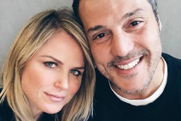 Susana Werner e Julio Cesar/ instagram