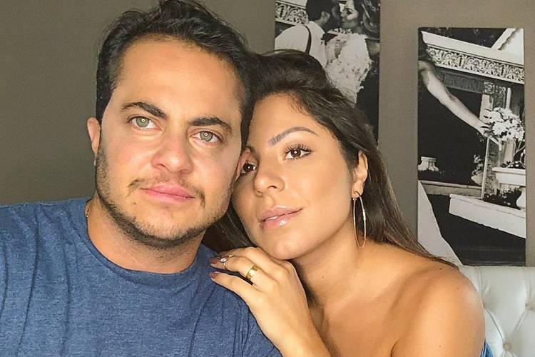 Thammy Miranda e Andressa Ferreira postam vídeo do nascimento do primeiro filho