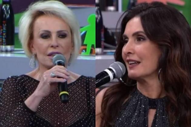 Ana Maria Braga e Fátima Bernardes - Foto: TV Globo/Reprodução