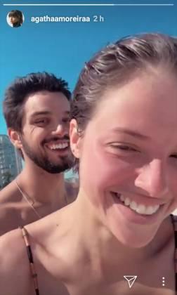 Agatha Moreira -Rodrigo Simas reprodução Instagram