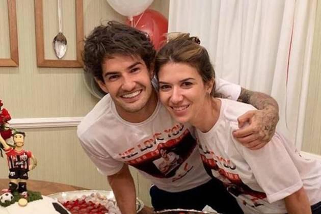 Alexandre Pato e Rebeca Abravanel - Instagram/Reprodução