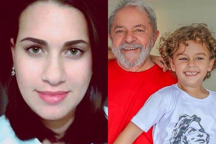 Blogueira que comemorou morte de neto de Lula é processada e fica desesperada