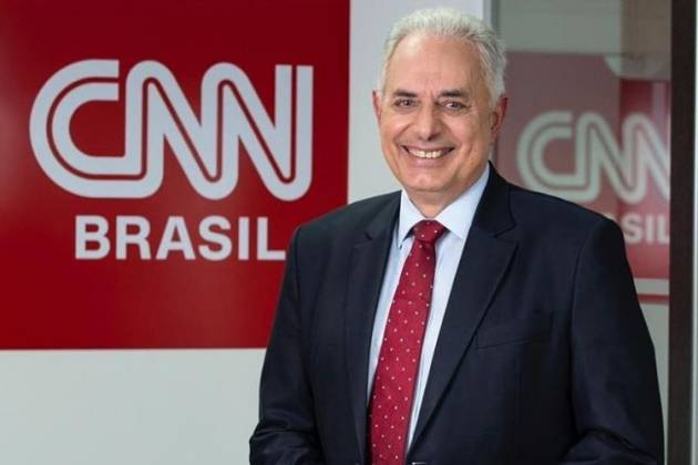 William Waack, contratado da CNN Brasil - Reprodução: Divulgação
