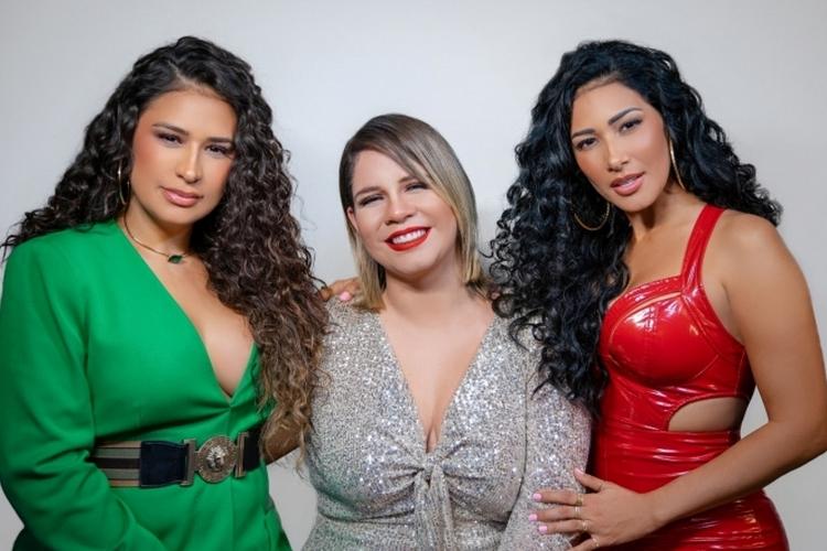 Sertanejas Simone e Simaria e Marília Mendonça emplacam parceria inédita