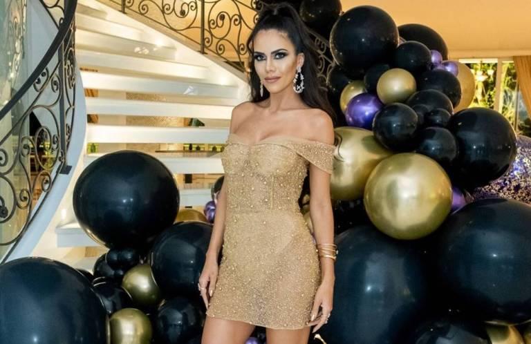 Rica! Daniela Albuquerque faz festão de aniversário em sua mansão luxuosa