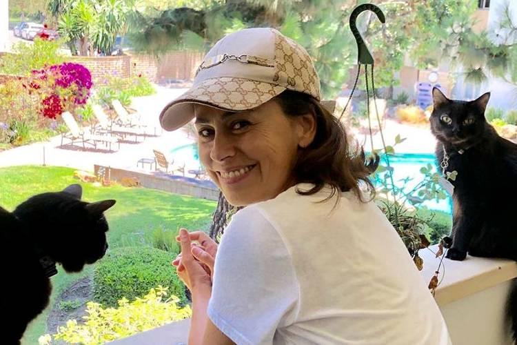 Daniela Escobar é atacada na web após relatar que quase perdeu a mão com mordida de gato
