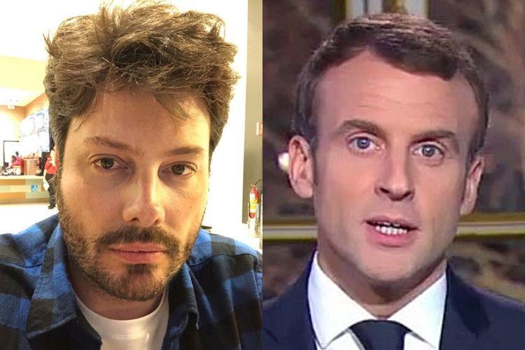 Danilo Gentili provoca presidente da França após críticas ao Brasil