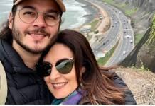 Fátima Bernardes e Túlio Gadêlha Instagram