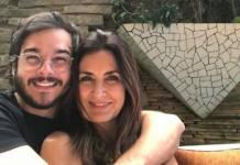 Fátima Bernardes e Túlio Gadelha- Instagram