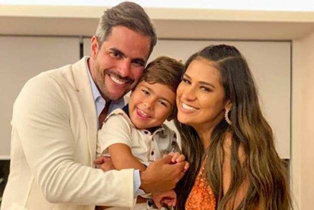 Kaka Diniz , Simone, Filho Henry- Instagram