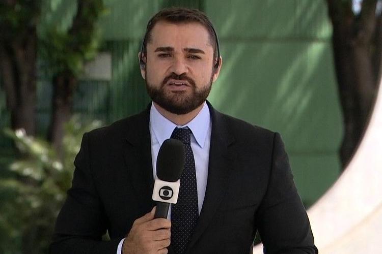 Âncora do 'Jornal Hoje' é flagrado em conversa secreta com diretor da CNN Brasil
