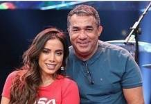 Painitto Mauro Machado e Anitta Instagram