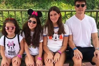Rodrigo faro- filhas Clara- Maria e Helena instagram