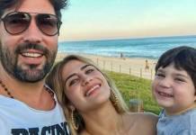 Sandro Pedroso- Jessica Costa e Noah Instagram