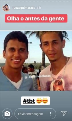 Carlinhos Maia e Lucas Guimarães Instagram