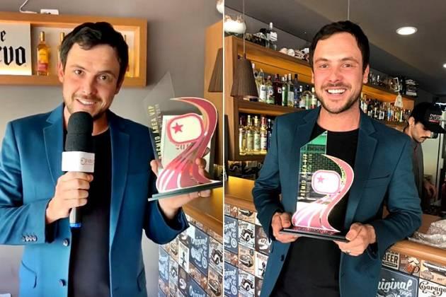 Sérgio Guizé recebe Prêmio Área VIP