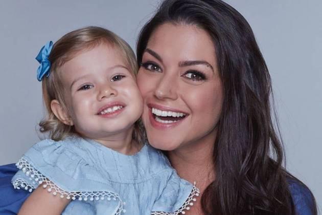 Thais Fersoza e sua filha, Melinda - Instagram/Reprodução