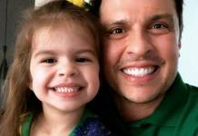 Wellington Muniz e Filha Valentina - Instagram