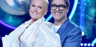 Xuxa e Junno (Blad Meneghel/Record TV)