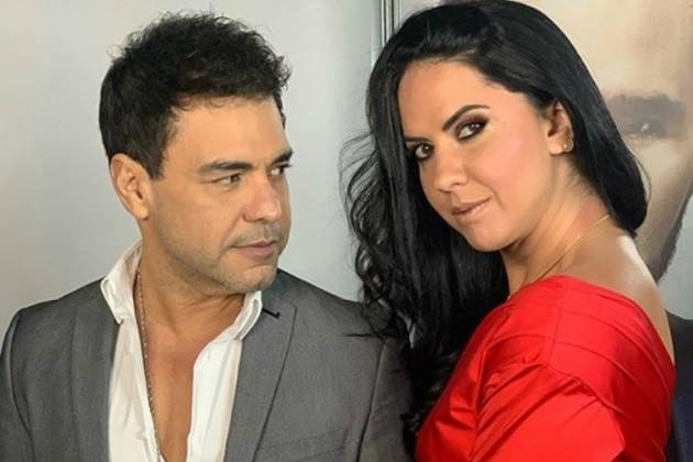 Cantor sertanejo Zezé di Camargo e a sua noiva Graciele Lacerda - Reprodução: Instagram