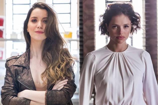 A Dona do Pedaço - Fabiana e Josiane (Raquel Cunha/João Miguel Júnior/TV Globo)