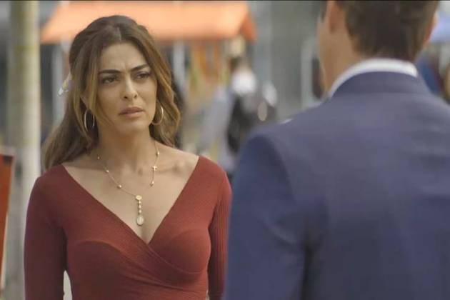 A Dona do Pedaço - Maria conversa com Regis (Reprodução/TV Globo)
