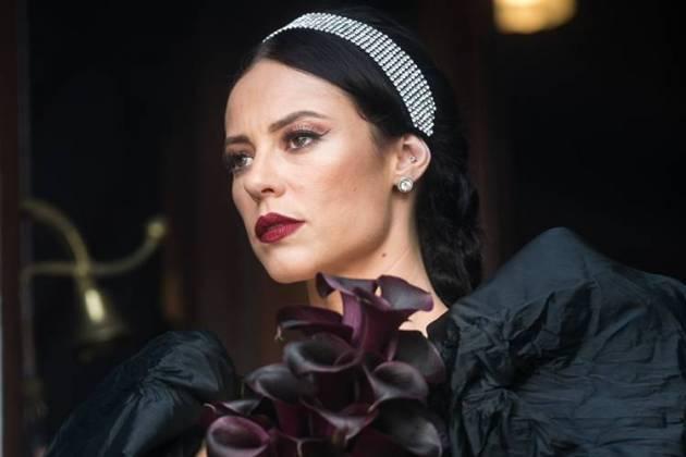 A Dona do Pedaço - Vivi se casa de preto (Globo/Raquel Cunha)