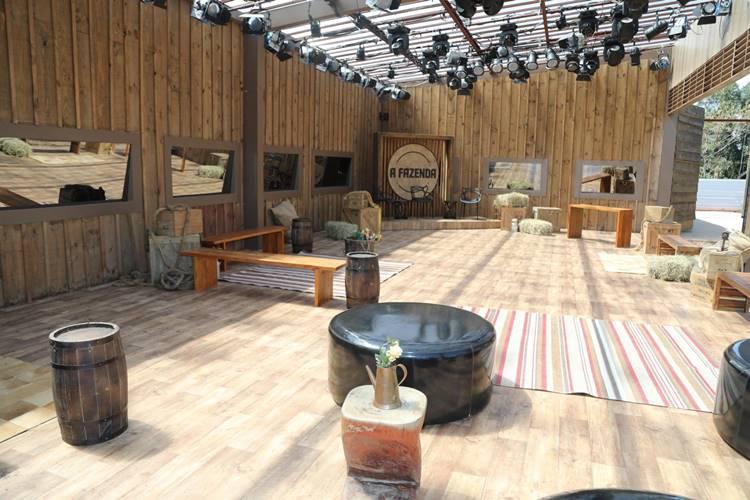 A Fazenda 11 -Ambientes da Sede (Edu Moraes/ Antonio Chahestian/Record TV)