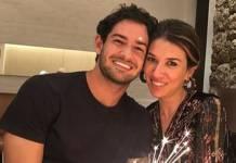 Alexandre Pato e Rebeca Abravanel _ Instagram