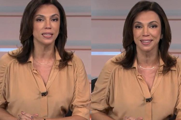 Ao vivo, 'Bom Dia Brasil' sofre problemas técnicos e Ana Paula Araújo comete gafe