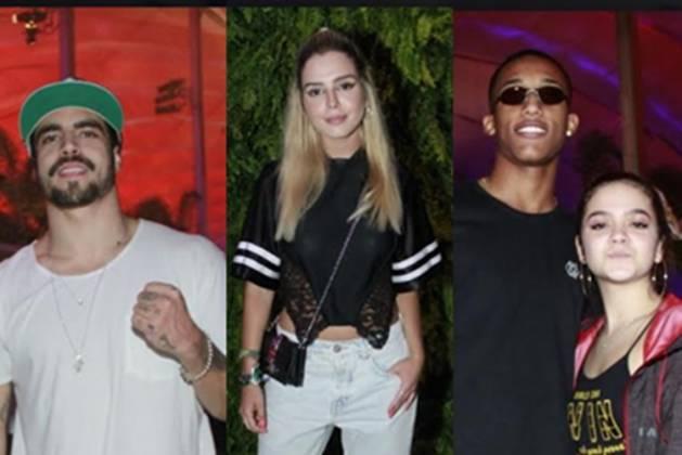 Caio Castro, Giovanna Lancelotti, Mel Maia e namorado João Pedro fotógrado Gráça Paes Agnews