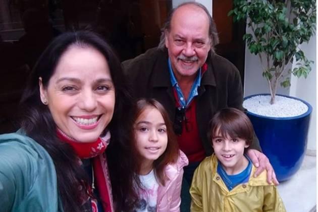 Claudia Mauro Paulo Cesar Grande filhos Carolina e Pedro Instagram