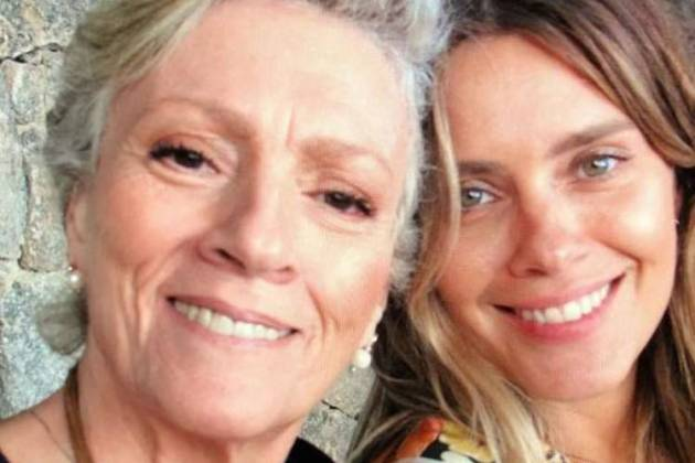 Carolina Dieckmann e a mãe, Maíra / Instagram