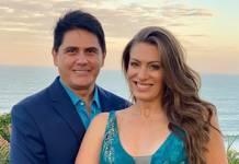 Cesar Filho e Elaine Mickely- Instagram