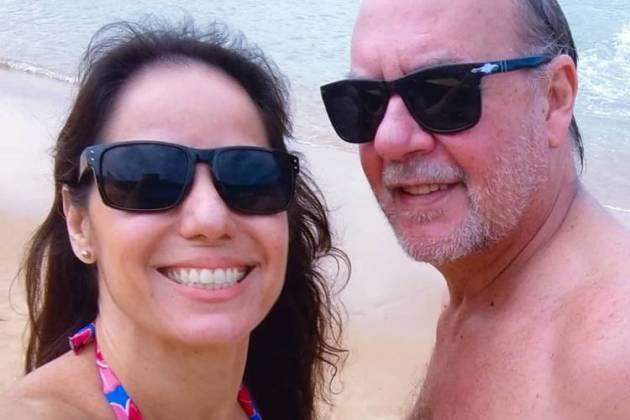 Claudia Mauro e Paulo Cesar Grande / Instagram